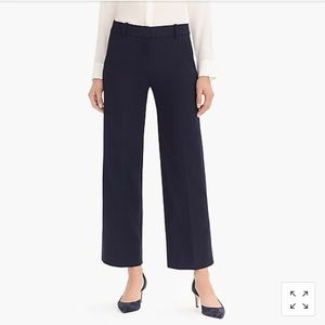 J. Crew NWT Tall high-rise Peyton wide-leg pant